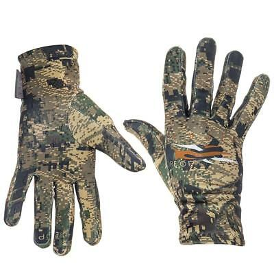 New Sitka Traverse Camo Hunting Gloves Optifade Ground Forest M/L/XL