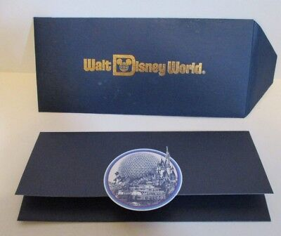 vintage walt disney world epcot center gift certificate envelope