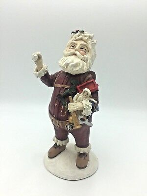 Duncan Royale Nast History of Santa 1983 Numbered Rodriguez Christmas Figure AS