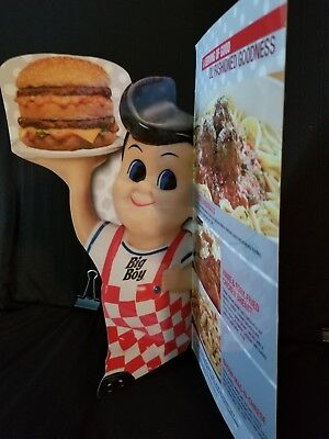 Bob's Big Boy Menu