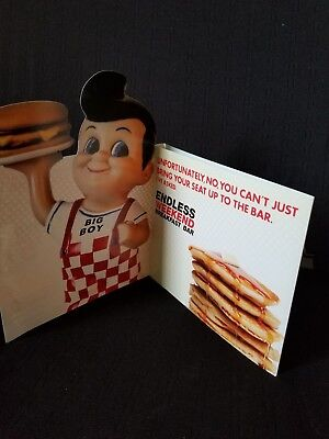 Bob's Big Boy Table Topper