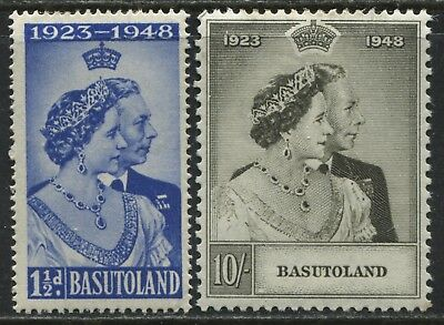 Basutoland 1948 KGVI Silver Wedding set mint o.g.
