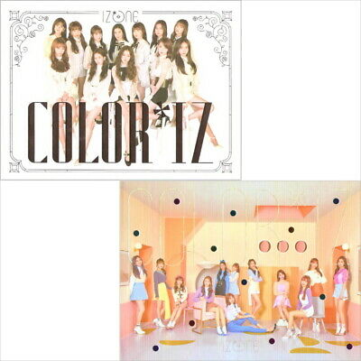 IzOne [Color*Iz]1st Mini Album Rose CD+BOOK+CARD+KPOP POSTER+Tracking