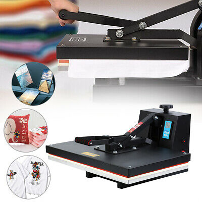 "16""x24"" Digital Clamshell Heat Press Machine Sublimation Transfer T-shirt DIY"