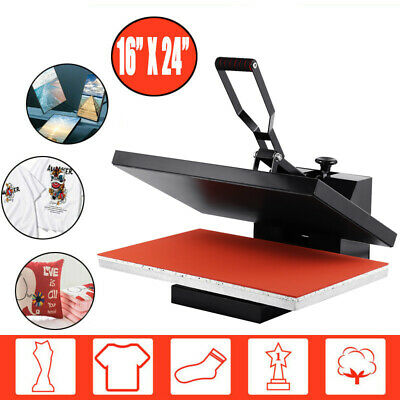 "16""x24"" Swing Away Heat Press Machine Sublimation Transfer T-shirt Hat Cap Plate"