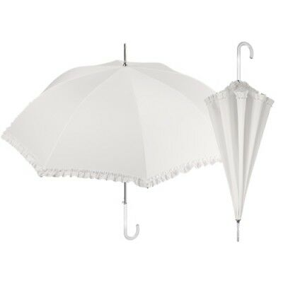 Ombrello color crema da cerimonia, ombrello da sposa, elegante- wedding umbrella