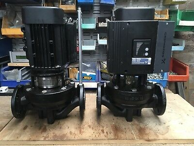 TWO GRUNDFOS  PUMPS  TYPE  MGE 80A2-19FT 100-C.  240volt Single Phase.