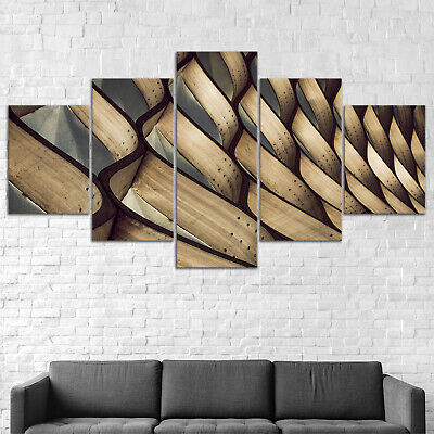 Abstract Architecture Canvas Print Painting Framed Home Decor Wall Art Poster