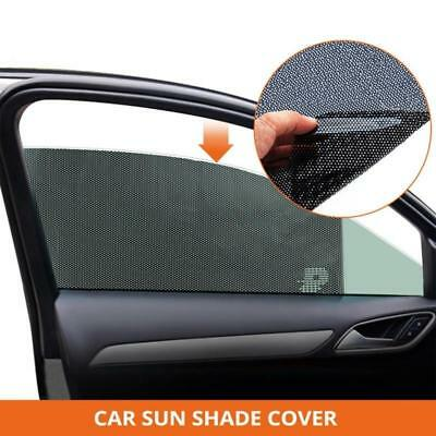 2 x Car Window Sun Shade Sock Mesh Cover UV Protection Baby Child Shield Visor