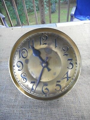 Antique Large Weight Clock Movement Germany