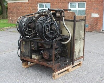 Karcher HDS 1000 DE Hot Pressure with water tank, hose reels and hoses