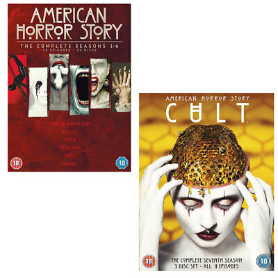 American Horror Story complete Series Season 1, 2, 3, 4, 5, 6 & 7 DVD box set