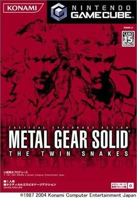 USED Gamecube ​​METAL GEAR SOLID THE TWIN SNAKES