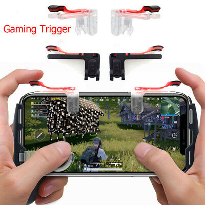 Gaming Trigger Cell Phone Game PUBG Controller Gamepad for Android IOS Phone New