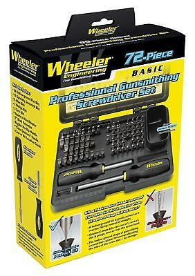 Gunsmithing Screwdriver Set Wheeler 72 Piece Gunsmith wheeler Rifle Gun Tool Kit