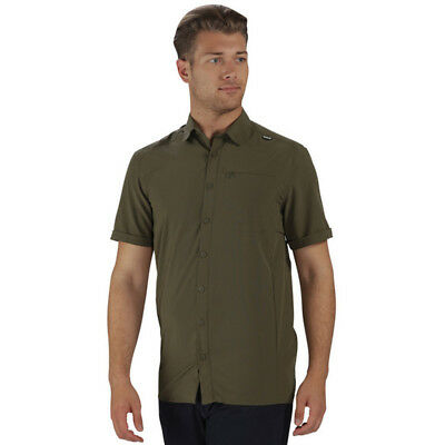 Regatta Mens Kioga Short Sleeve Technical Button Shirt