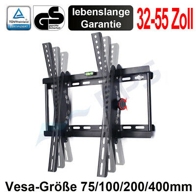 Wandhalterung Superflach neigbar LED TV 40 42 47 50 55 Zoll Samsung Sony LG VESA