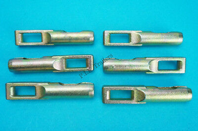 6 x Brake Cable Eyelet Connector for KNOTT - Triple Axle - Ifor Williams Trailer