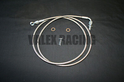 Right Hand Drive Kswap Stainless Clutch Line For 92-00 HONDA CIVIC 94-01 Acura