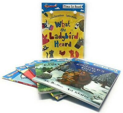 Time To Read 20 Books Set Collection Inc The Gruffalo, Football Fever