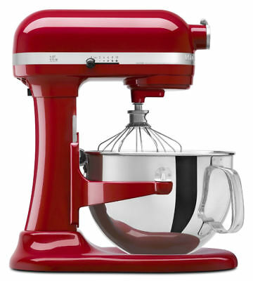 KitchenAid 6Qt Pro 600 Mixer - Empire Red
