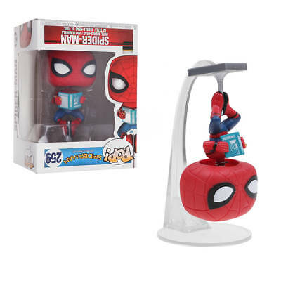 Funko Pop Spider-Man:Homecoming #259 with Book Vinyl Figure Collection Toys Gift