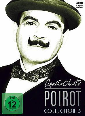polyband - Agatha Christie's Hercule Poirot Collection. Vol.3, 3 DVDs