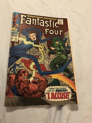 Fantastic Four 65 1st app of Ronan