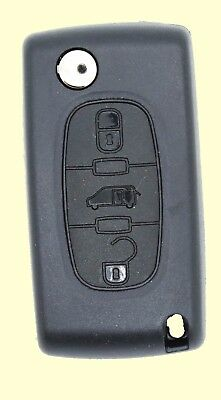 Fits Peugeot Expert Fiat Scudo 3 Button KEY  FOB REMOTE CASE