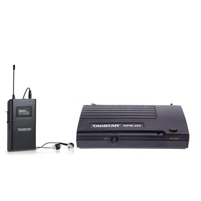 WPM-200 UHF Wireless Monitor System Transmitter Receiver 6 Channels P9G7