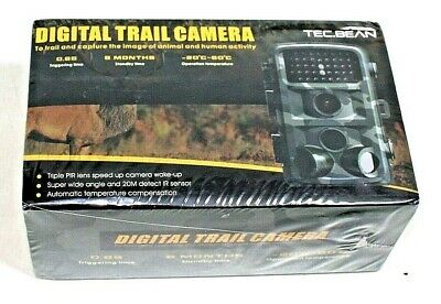 TEC.BEAN Trail Camera 12MP 1080P 2.4 Inch Color LCD Screen