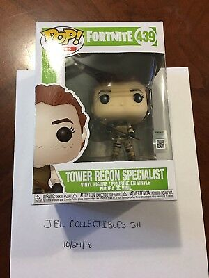Fortnite Tower Recon Specialist Funko Pop #435 Figure New IN HAND FREE SHIPPING!