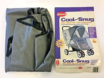 Joovy Cool and Snug Sun Filter Screen Mesh Cover For Caboose Stroller