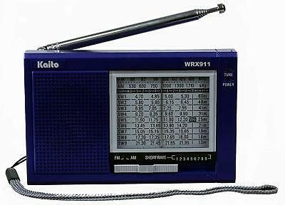 Used Kaito WRX-911 Portable AM/FM Shortwave Radio Receiver