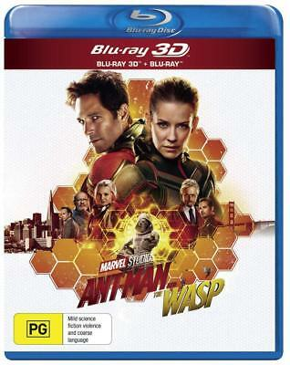 ANT-MAN (2018 - 2) AND THE WASP: MARVEL, Action - NEW Au RgB 3D + 2D BLU-RAY