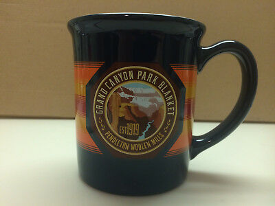 Grand Canyon Park Blanket National Collectibles Pendleton Mills Mug Mint EUC