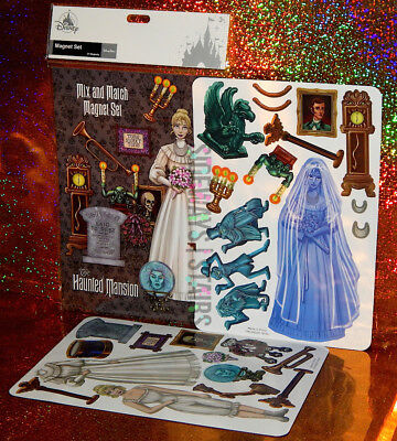 THE HAUNTED MANSION MAGNET SET mix & match Disney Parks ghosts leota gracey tomb