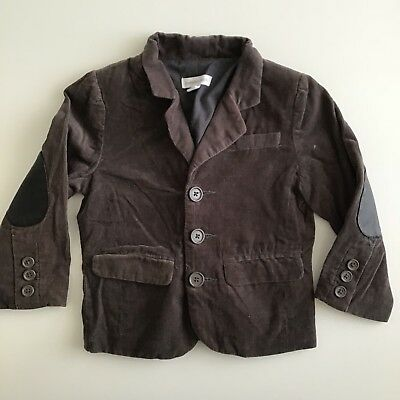 Pre Loved Size 2 Pumpkin Patch Soft Cord Brown Jacket MAKE AN OFFER