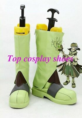 Hack//Sign Tsukasa Anime Game Cosplay Shoes Boots Custom made