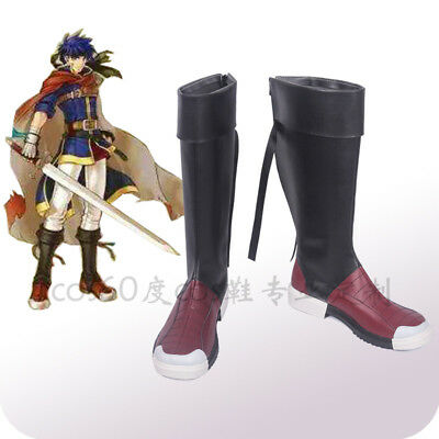 Fire Emblem:Path Of Radiance Ike Cosplay Shoes Boots Costom Made