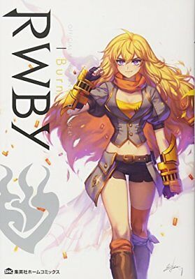 RWBY Official Manga Anthology Vol.4 I Burn Japanese Comic Book Rooster Teeth