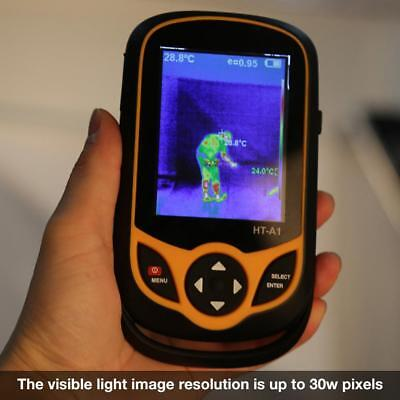 USB 100-240V 3.2'' HT-A1 Mobile Phone Type HD Infrared thermal Imaging Camera hh