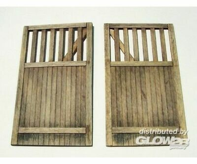 Plus model 432 Wooden gate - straight in 1:35