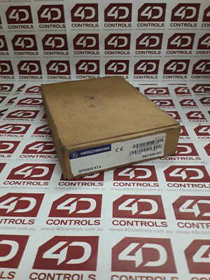 Hirschmann SPIDER 5TX 5-Port Ethernet Switch - New Surplus Open