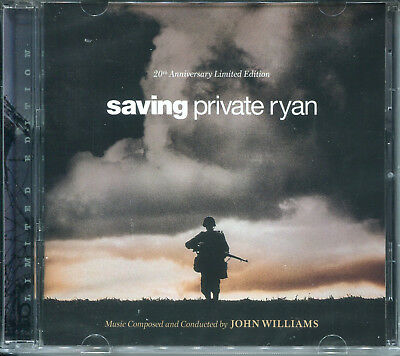 John Williams SAVING PRIVATE RYAN 20th Anniversary LIMITED EDITION Soundtrack CD