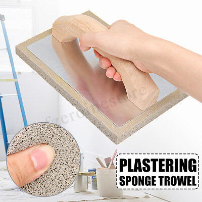 PRO Plastering Sponge Float Trowel Plasterers Foam Grey Rubber 210×140×15mm