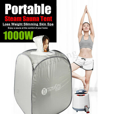 Portable Home Spa Steam Sauna Tent Full Body Slim Loss Weight Detox Therapy 2L
