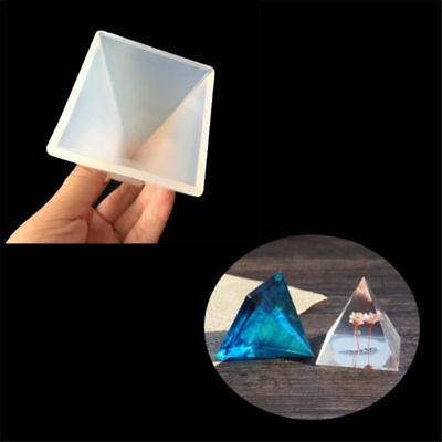 5*5CM Pyramid Silicone Mold Resin Decorative Craft Making Mould Tool DIY Jewelry