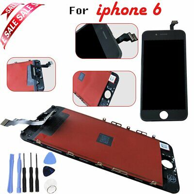 """For iPhone 6 4.7"""" Assembly Digitizer LCD And Touch Display Screen BLACK"""