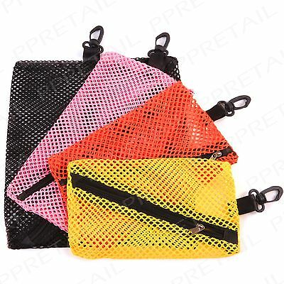 EASY CLIP ATTACH MESH TRAVEL STORAGE BAGS Suitcase/Luggage Organiser Pouch Tidy